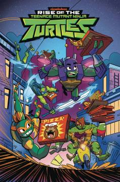 TMNT RISE OF THE TMNT TP 02 BIG REVEAL