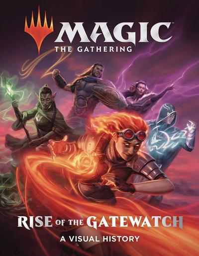MTG RISE OF THE GATEWATCH VISUAL HISTORY HC