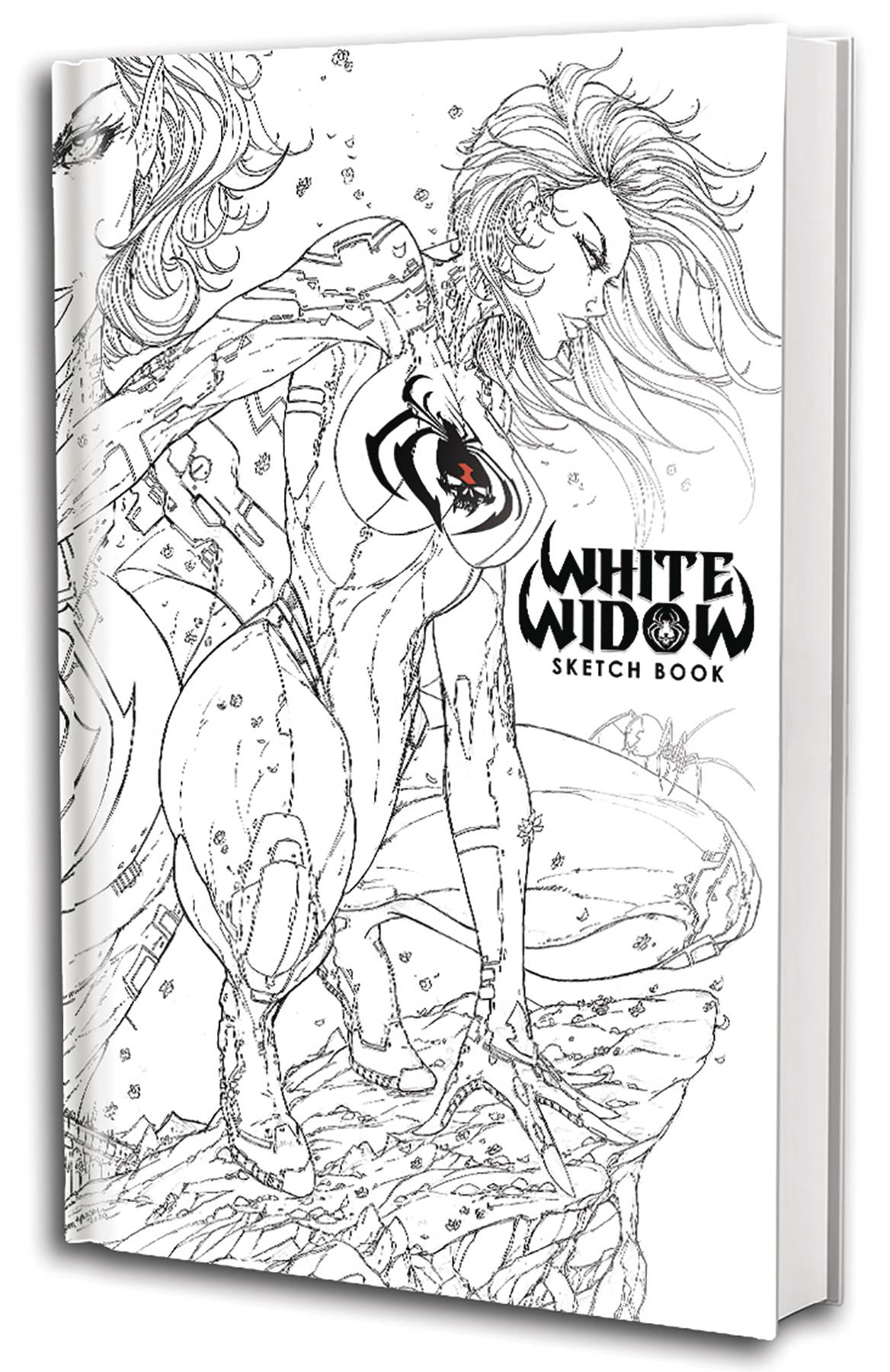 WHITE WIDOW SKETCH BOOK TP 01