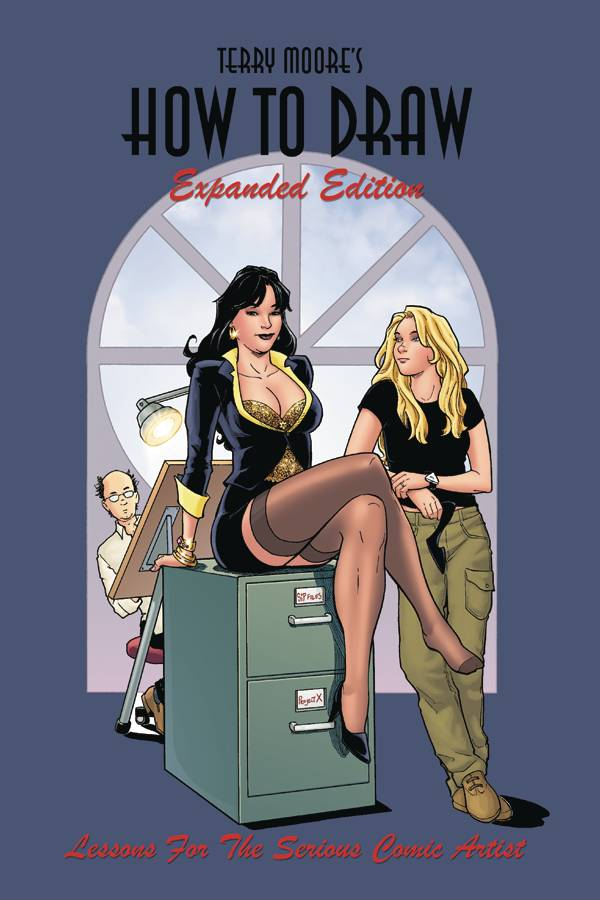 TERRY MOORE HOW TO DRAW EXPANDED ED TP