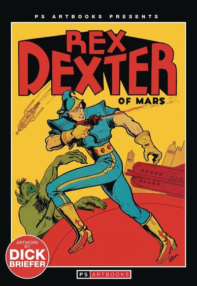 PS ARTBOOK REX DEXTER OF MARS MAGAZINE TP