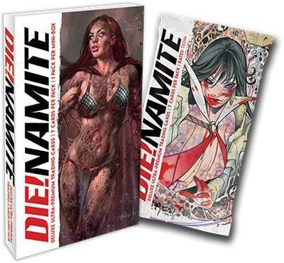 DIE!NAMITE DLX ULTRA PREMIUM TRADING CARDS FOIL PACK