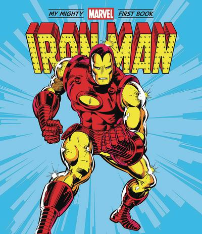 IRON MAN MY MIGHTY MARVEL FIRST BOOK BOARD BOOK