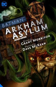 BATMAN ARKHAM ASYLUM DELUXE EDITION HC