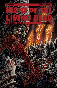 NIGHT OF THE LIVING DEAD AFTERMATH GORE CVR