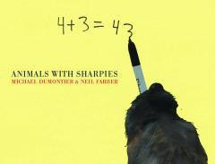 ANIMALS WITH SHARPIES HC