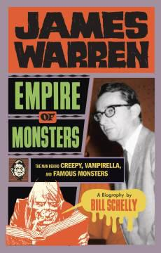 JAMES WARREN HC EMPIRE OF MONSTERS CREEPY VAMPIRELLA