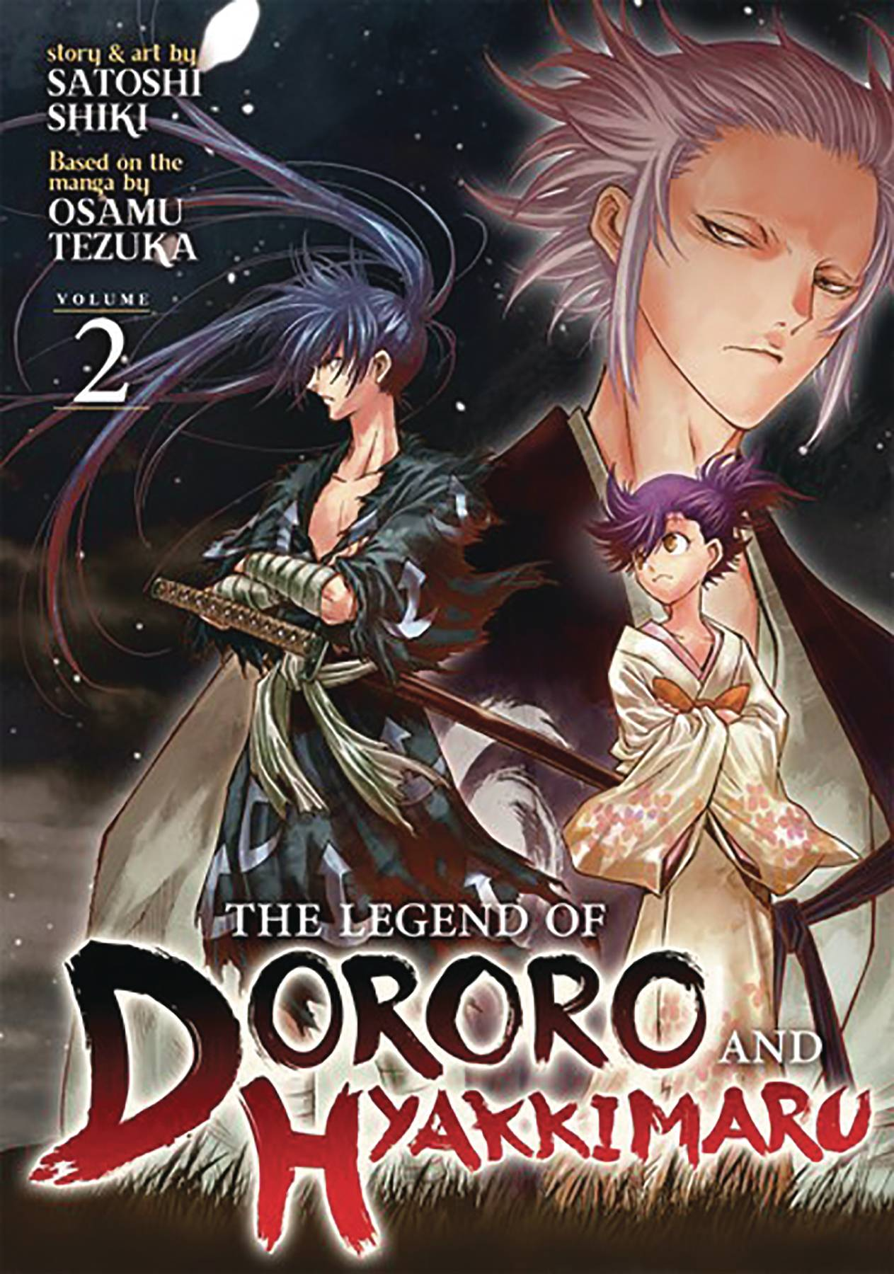 LEGEND OF DORORO & HYAKKIMARU GN 02