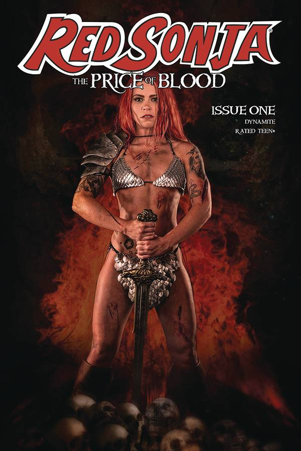 RED SONJA PRICE OF BLOOD