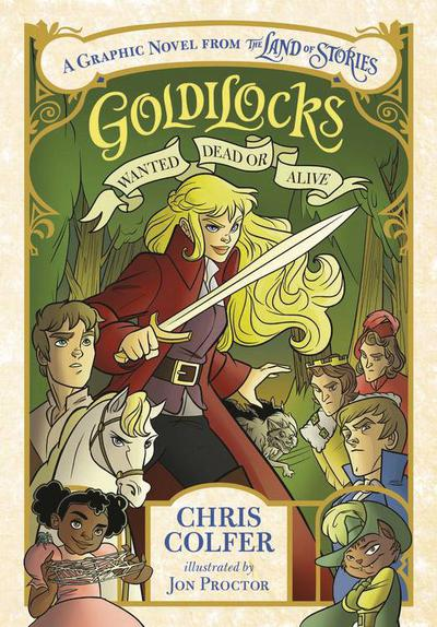 GOLDILOCKS WANTED DEAD OR ALIVE HC