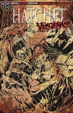 HATCHET VENGEANCE LTD ED BLOODY HORROR CVR