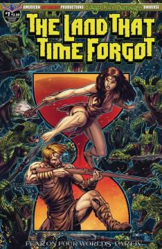LAND THAT TIME FORGOT FEAR ON FOUR WORLDS