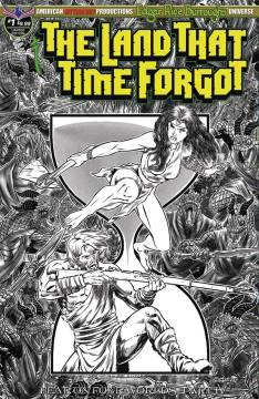 LAND THAT TIME FORGOT FEAR ON FOUR WORLDS B&W LTD ED CVR