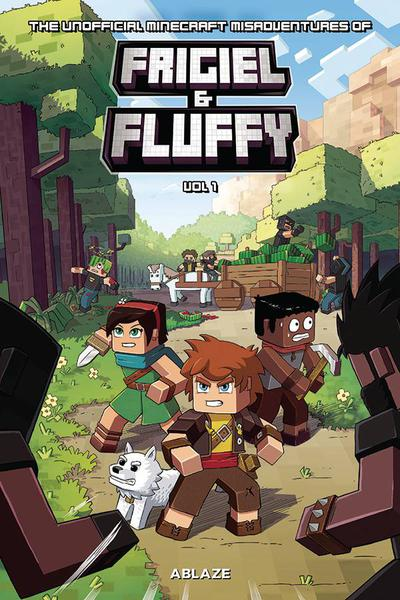 MINECRAFT INSPIRED MISADV FRIGIEL & FLUFFY HC 01