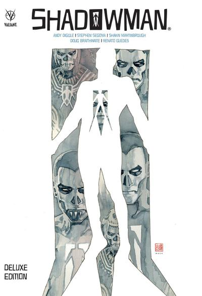 SHADOWMAN ANDY DIGGLE DELUXE ED HC