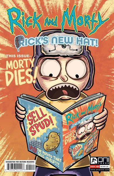 RICK AND MORTY RICKS NEW HAT