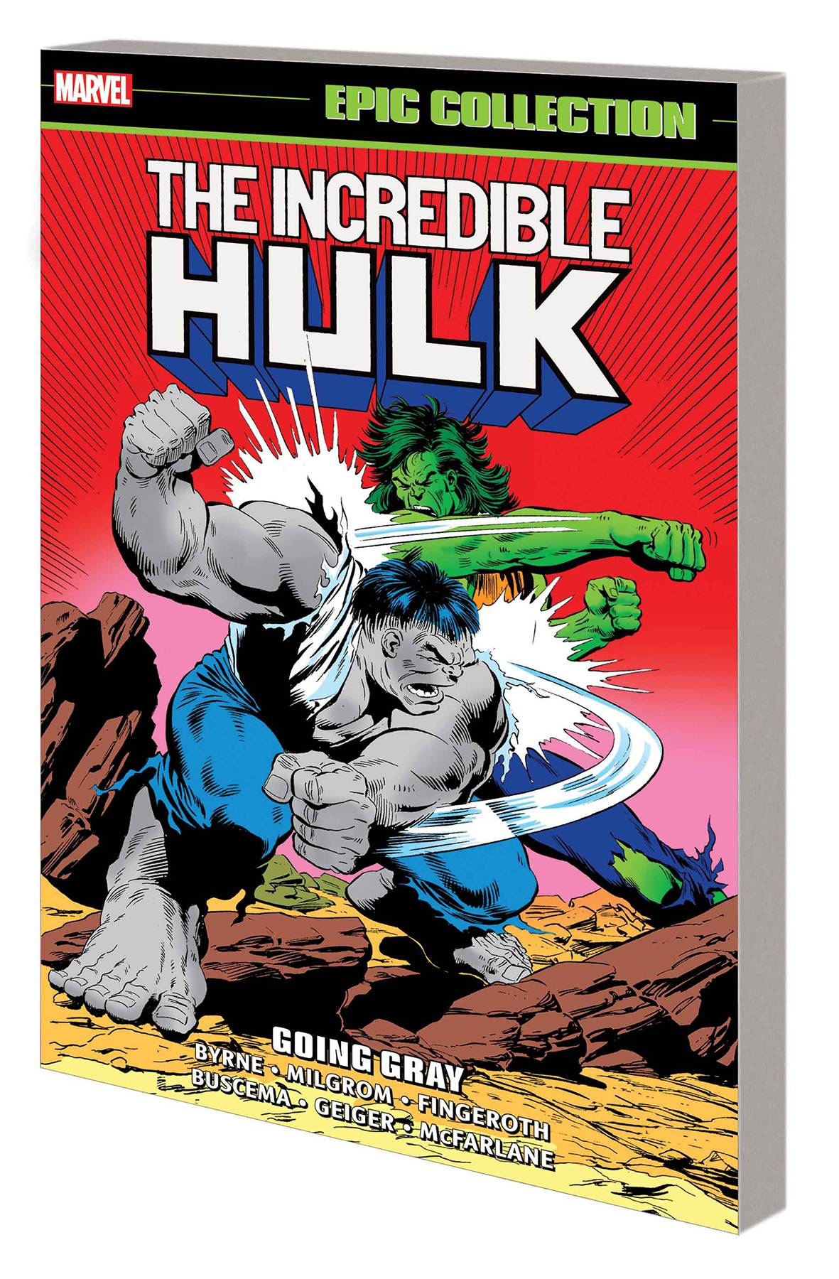 INCREDIBLE HULK EPIC COLLECTION TP 14 GOING GRAY