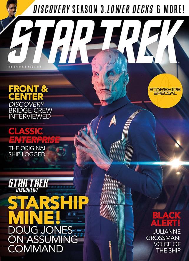 STAR TREK MAGAZINE NEWSSTAND ED