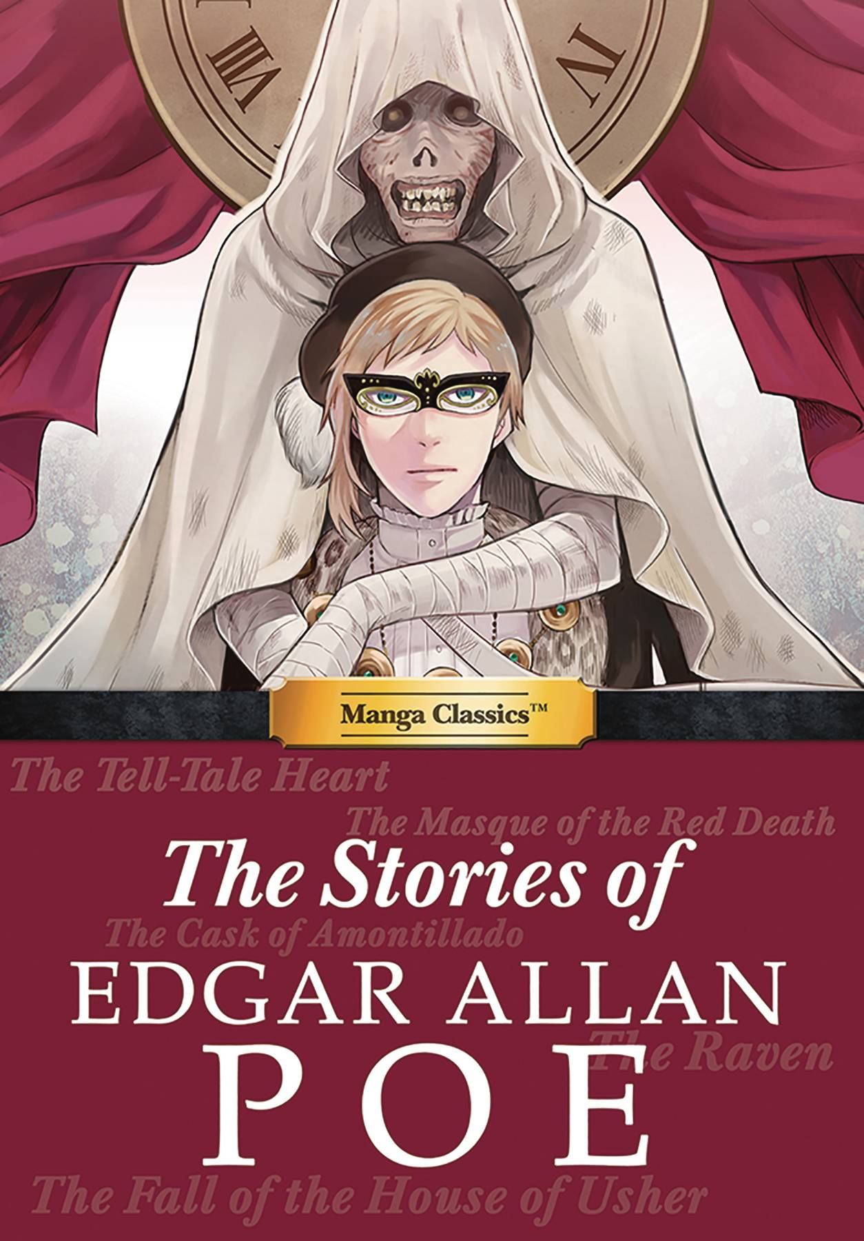 MANGA CLASSICS STORIES OF EDGAR ALLAN POE HC