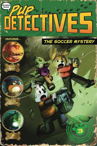 PUP DETECTIVES TP 03 SOCCER MYSTERY