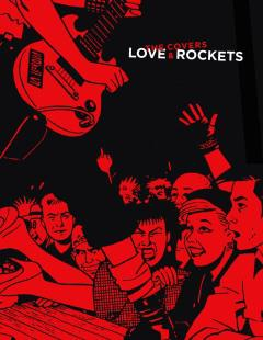 LOVE AND ROCKETS THE COVERS HC
