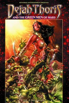 DEJAH THORIS & GREEN MEN OF MARS TP 02