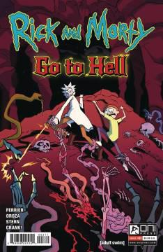 RICK AND MORTY GO TO HELL