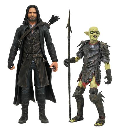 LORD OF THE RINGS DLX SERIES 3 FIGURE ASST