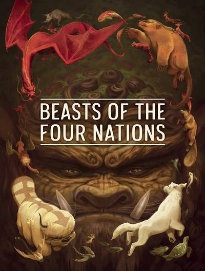 BEASTS OF 4 NATIONS CREATURES FROM AVATAR HC 01