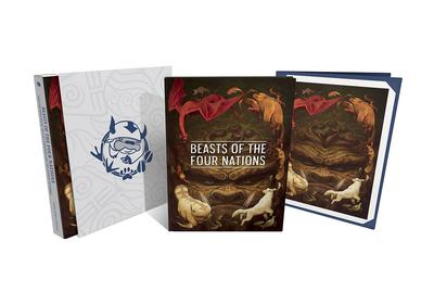 BEASTS OF 4 NATIONS CREATURES FROM AVATAR DLX HC 01
