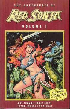ADVENTURES OF RED SONJA TP 01 SHE DEVIL WITH SWORD