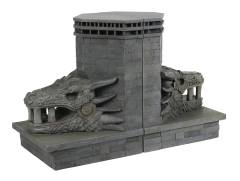GOT DRAGONSTONE GATE DRAGON BOOKENDS