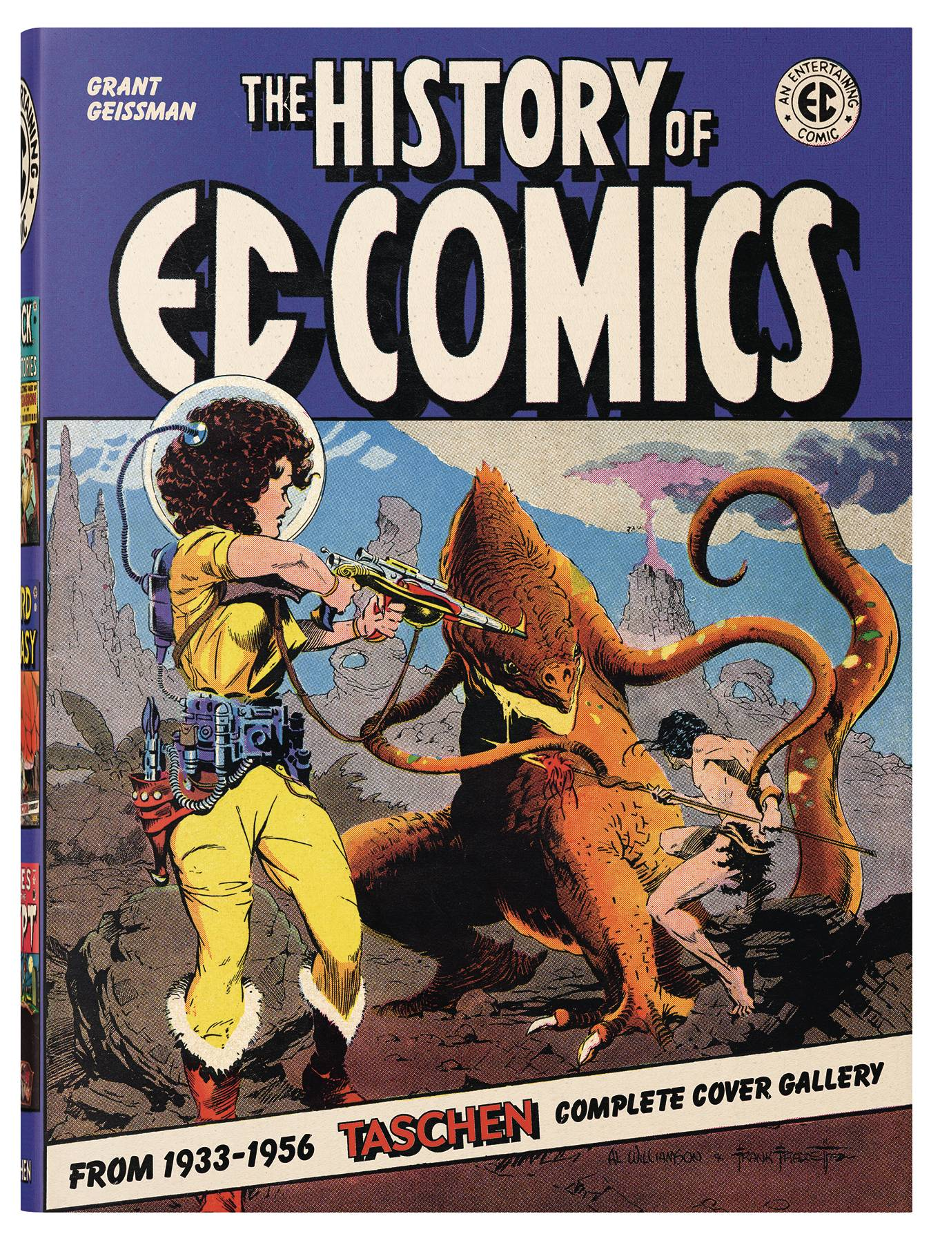 HISTORY OF EC COMICS DLX HC