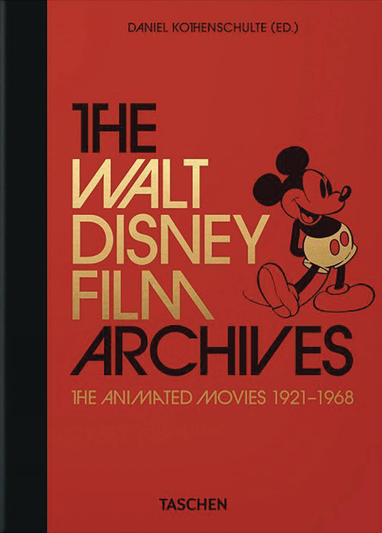 WALT DISNEY ARCHIVES ANIMATED MOVIES 1921-1968 HC