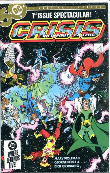CRISIS ON INFINITE EARTHS SET