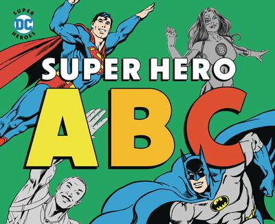 DC SUPER HEROES ABC BOARD BOOK