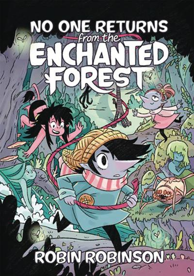NO ONE RETURNS FROM THE ENCHANTED FOREST HC