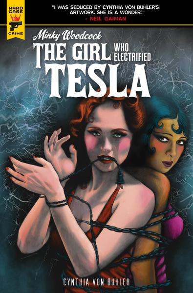 MINKY WOODCOCK GIRL ELECTRIFIED TESLA