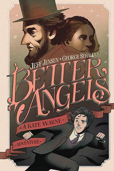 BETTER ANGELS KATE WARNE ADVENTURE ORIGINAL HC