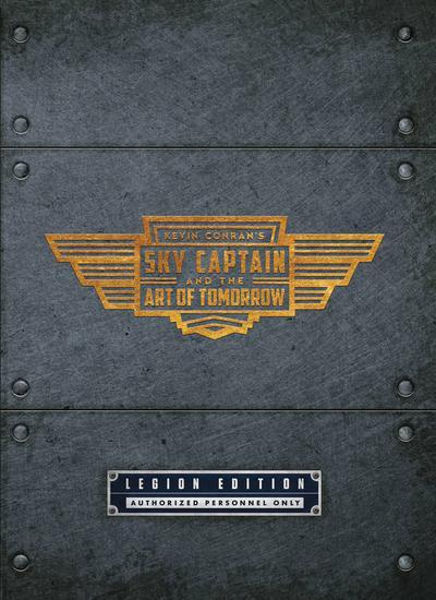 SKY CAPTAIN & ART OF TOMORROW HC DLX ED