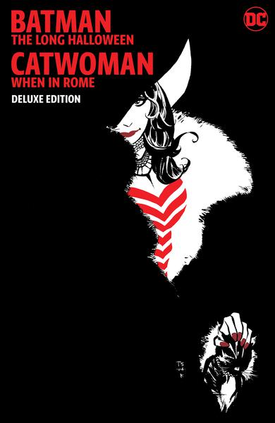 BATMAN LONG HALLOWEEN CATWOMAN WHEN IN ROME THE DLX ED HC