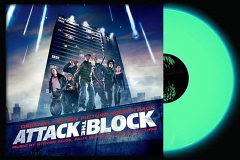 ATTACK THE BLOCK GLOW IN THE DARK OST LP