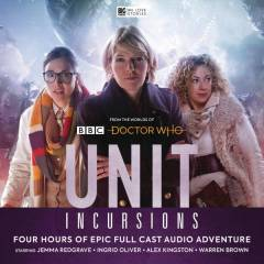 DOCTOR WHO UNIT AUDIO CD SET #8 INCURSIONS