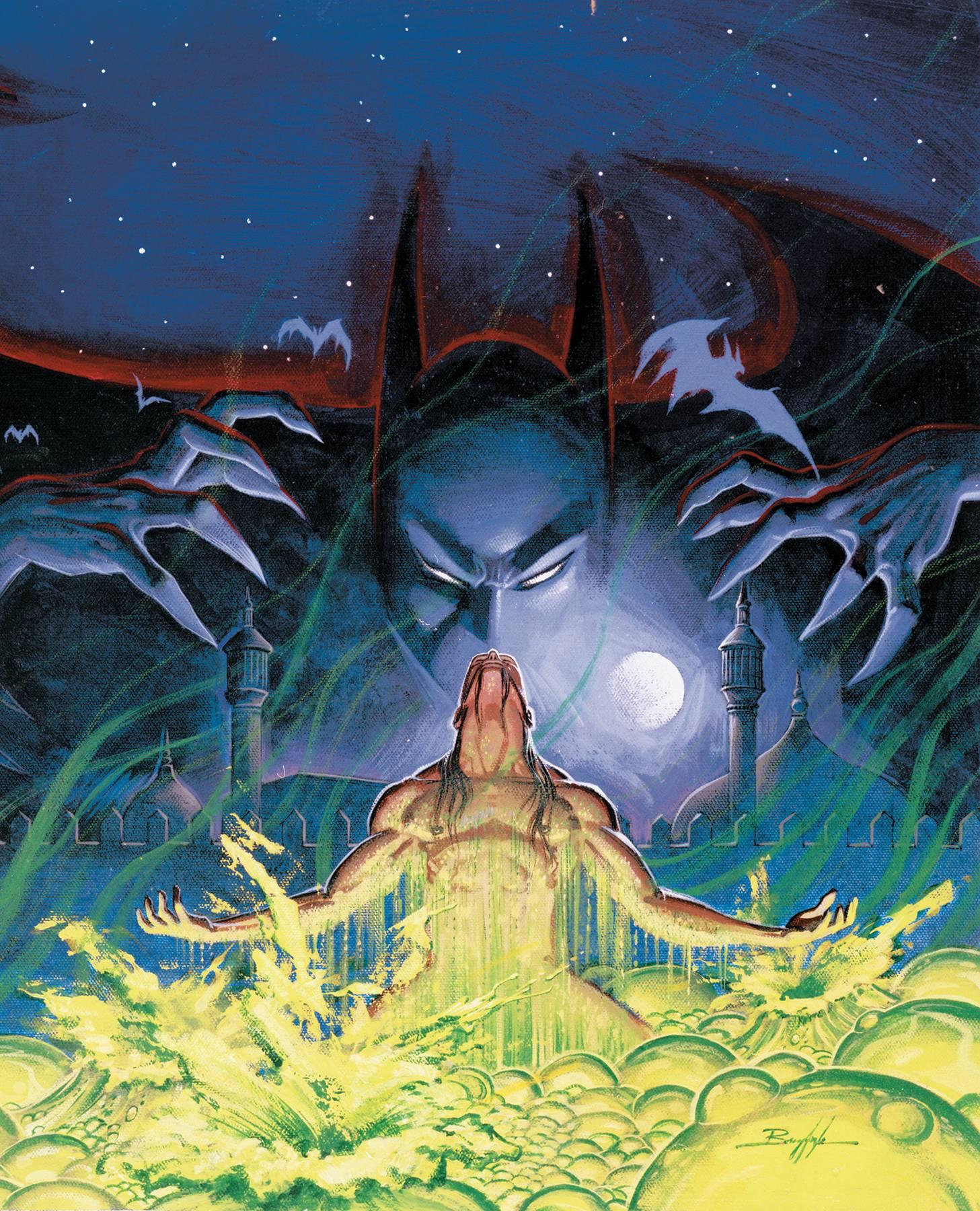 BATMAN THE DEMON TRILOGY HC