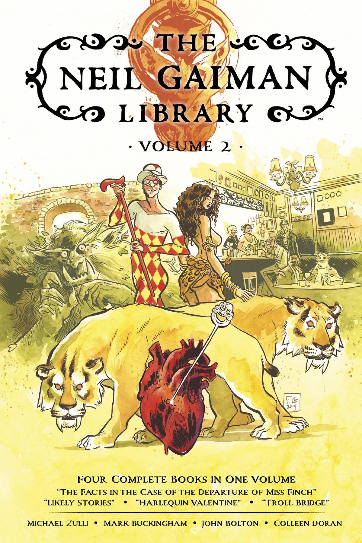 NEIL GAIMAN LIBRARY EDITION HC 02