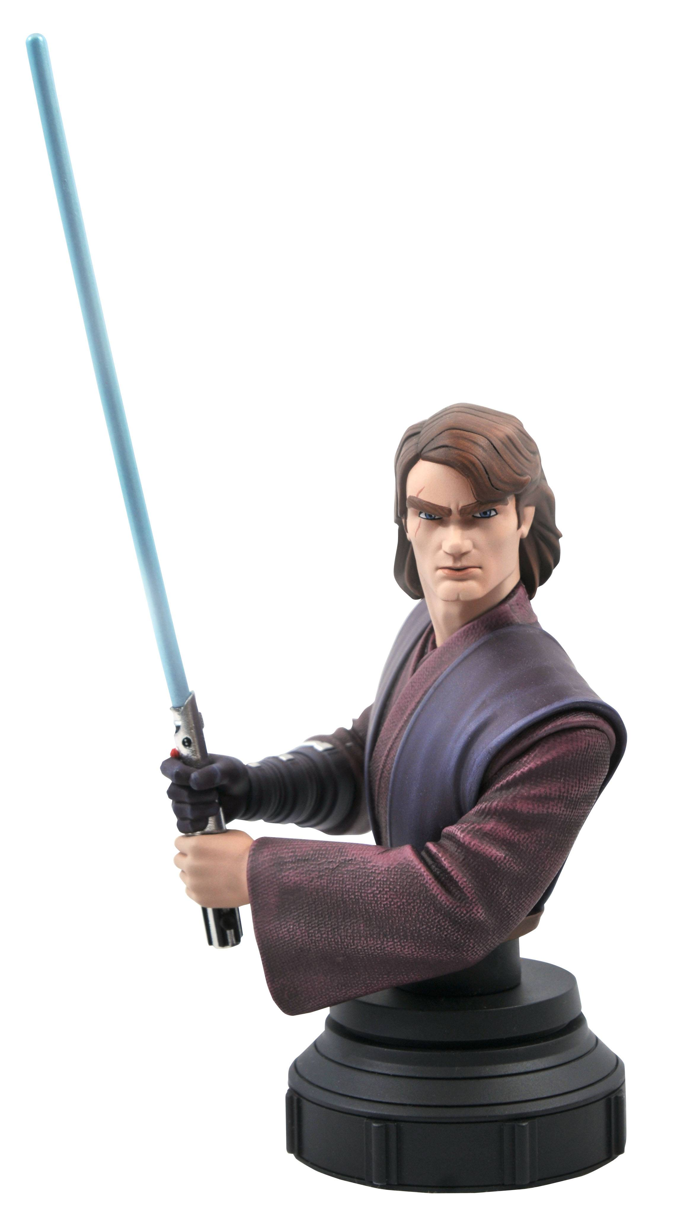 STAR WARS CLONE WARS ANAKIN SKYWALKER 1/7 SCALE BUST