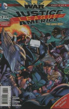 JUSTICE LEAGUE OF AMERICA COMBO PACK