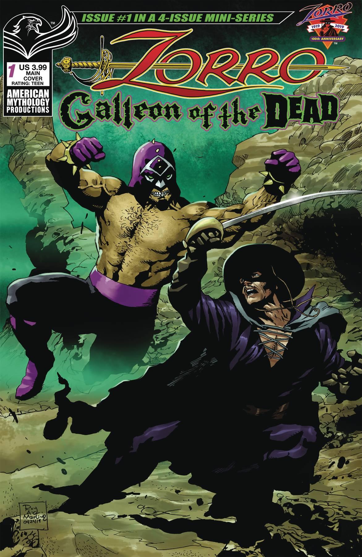 ZORRO GALLEON OF DEAD