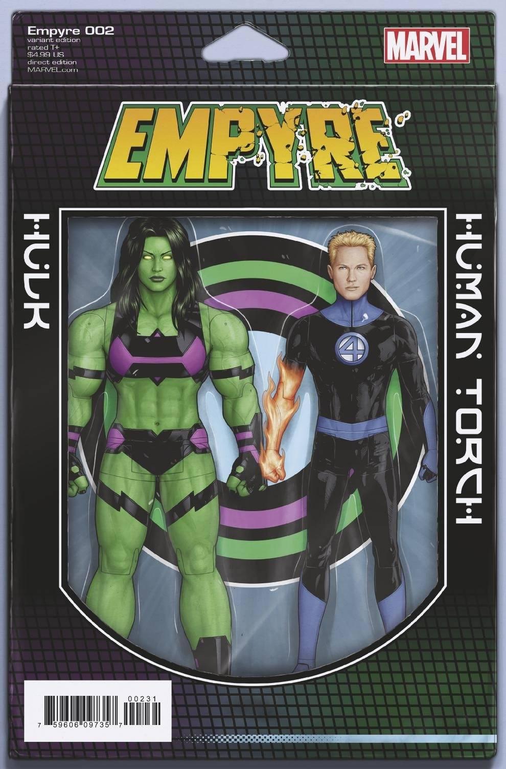 EMPYRE - #2 action figure-c