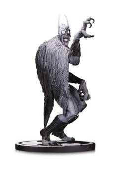 BATMAN BLACK & WHITE STATUE BATMONSTER BY G CAPULLO